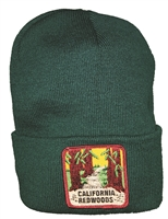 #121625/18250 - CALIFORNIA REDWOODS knit beanie cap