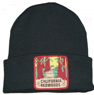 CALIFORNIA REDWOODS knit beanie w cuff