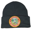 REDWOOD NATIONAL & STATE PARKS black knit beanie