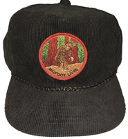 BIGFOOT LIVES corduroy cap