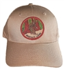 BIGFOOT LIVES khaki cotton cap