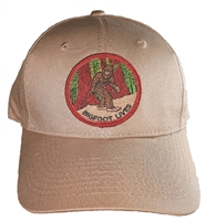 #121825/12460 - BIGFOOT LIVES khaki cotton cap