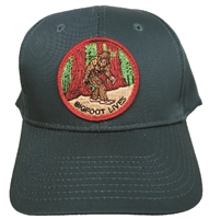 BIGFOOT LIVES dark green cotton low profile cap