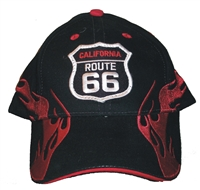 #123601/1303601 - CALIFORNIA US 66 Flame fire cap