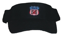#15101/6892 - CRUISIN' ON ROUTE 66 black visor