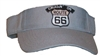 #15158/9595 - CRUISIN ON ROUTE 66 on grey visor