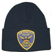 #4026/18208 SAN FRANCISCO POLICE knit beanie