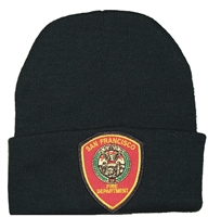 #4029/18201 - SAN FRANCISCO FIRE DEPT knit beanie