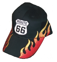 ROUTE 66 Flame fire cap