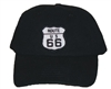 ROUTE 66 black low profile cap