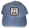 ROUTE 66 kids denim cap