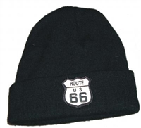 ROUTE US 66 knit beanie