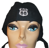 black headwrap w-01 w ROUTE 66 6888