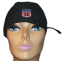 black headwrap w-01 w ROUTE 66 6892