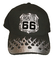 ROUTE 66 fire-flame cap
