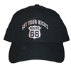 GET YOUR KICKS ROUTE 66 acrylic pro style cap
