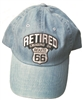 #17499/6895 - RETIRED, CRUISIN' ON ROUTE 66 Low profile denim cap