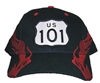 US 101 shield flame cap