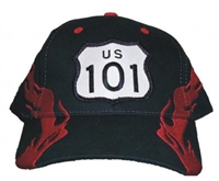 #81012/1303601 - US 101 shield flame cap