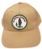 CALIFORNIA REDWOODS cotton khaki cap