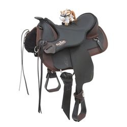 Barefoot Drytex Arizona Western Treeless Kids Saddles