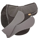 Adjustable saddle pad