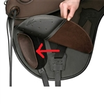 Barefoot Tahoe Treeless Saddle Knee Rolls