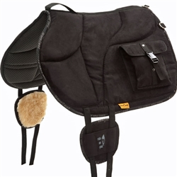 Barefoot Ride-On Bareback Pad with Bags