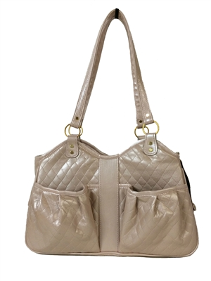 Quilted Luxe Metro Bag