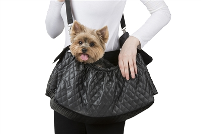 Petote Gigi Sling Bag - Quilted Black