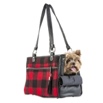 Red Buffalo Plaid Tote
