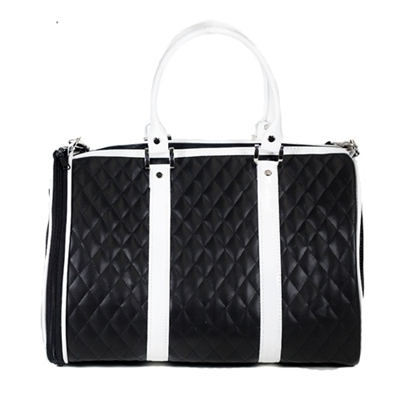 Quilted Luxe Duffel Bag