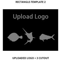 Custom Sign Rectangle Template 2