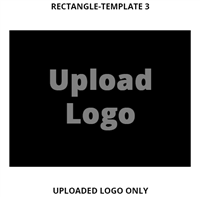 Custom Sign Rectangle Template 3