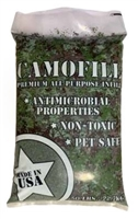 CamoFill Anti-microbial Coated Infill Green/Black/Tan, 50 lb Bag
