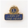 Lion of the Year Pin
