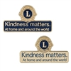 Kindness Matters Pin