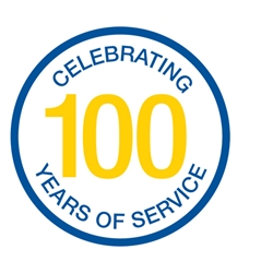Badge 100 Years Anniversary