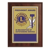 Plaque President Appreciation Award - 7 x 9 inch