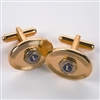 Cuff Links with Lions Logo