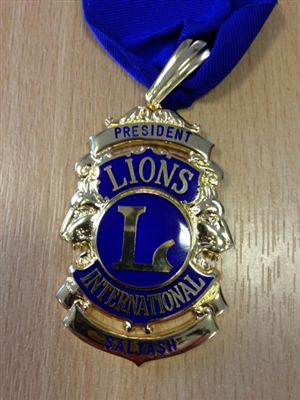 Medal Lion President (Ribbon not included)
