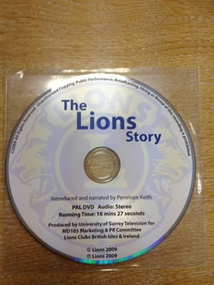 Lions Story on DVD