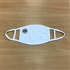 Lions Logo Face Mask - White
