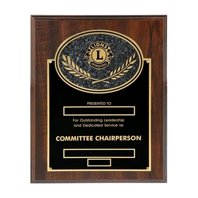 Committee Chairperson - 8 x 10 inch