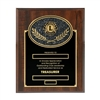 Treasurer Plaque - 8 x 10 inch
