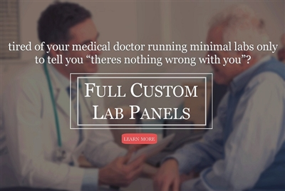 custom lab panel functional blood work optimal blood work