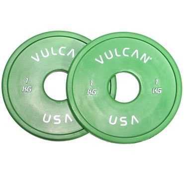 1 kg V-Lock Olympic Weightlifting Rubber Disc