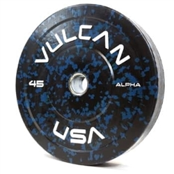 Alpha 45lb Bumper Plate Pair - In Stock
