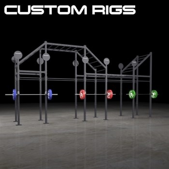 Custom Rigs Used by CrossFit Gym