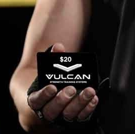 Vulcan Strength Gift Cards
